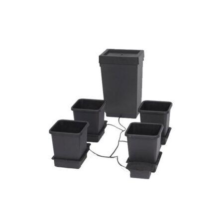 1Pot systeem 4 potten met 47 liter vat
